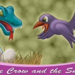 Story for Kids : The Crow and the Snake