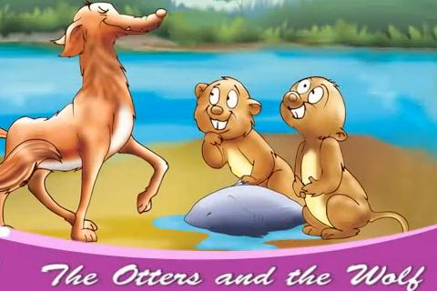 The Otters and the Wolf