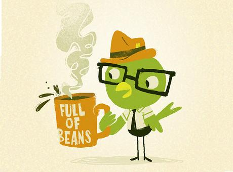 Common Expressions : Full of beans